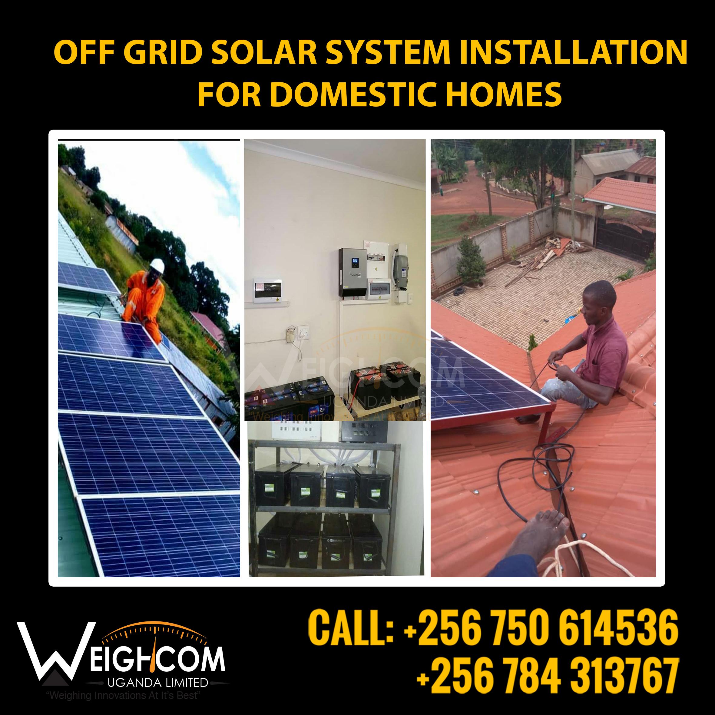 Solar System Installation Kampala